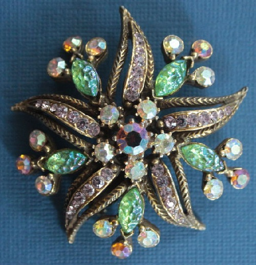 1960s Vintage brooch Starfish by Florenza