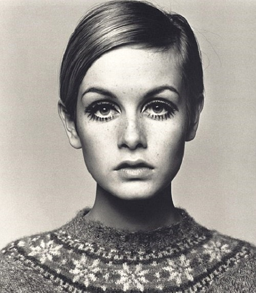 1966 image of supermodel Twiggy