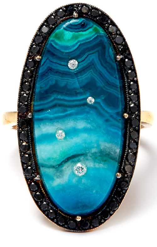 Andrea Fohrman Celestial-inspired jewellery - Night Ring
