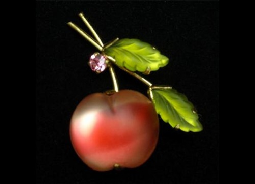 Austrian berry and fruit vintage jewelry