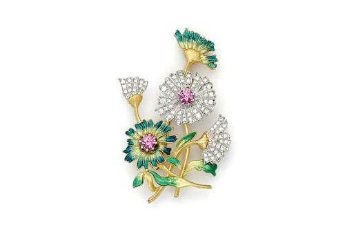 Brooch from Jewellery collection 'In the Garden'