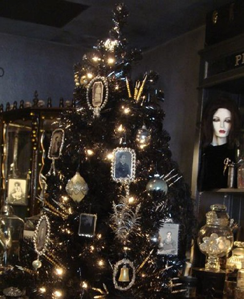 Gothic Christmas decorations