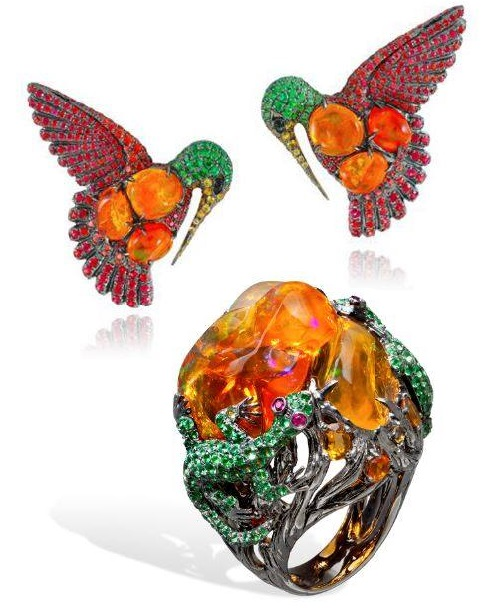 Lydia Courteille Jewellery Rainbow Warrior Collection: French Jeweler Lydia Courteille