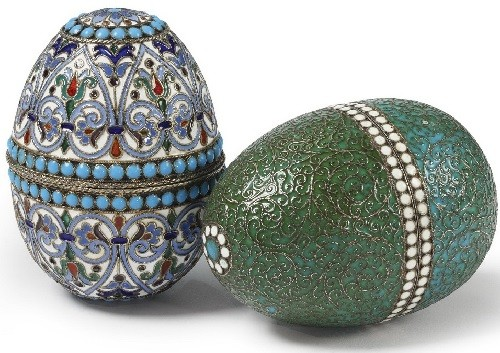Easter egg jewellery art