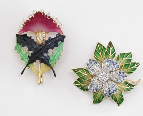 Enchanting Beauty of Jewellery collection 'In the Garden' by Japanese master Kunio Nakajima