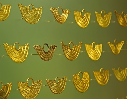 Ancient Jewellery exhibited in Gold Museum