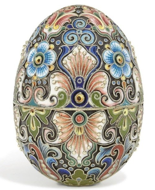 Imperial Easter Eggs. Enamel. Work of Fyodor Ruckert, Moscow, 1896-1908