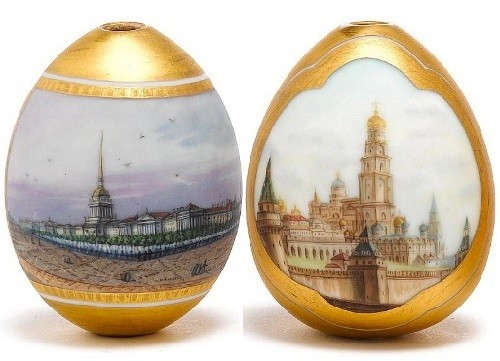 Imperial Easter Eggs. St. Petersburg, circa 1890