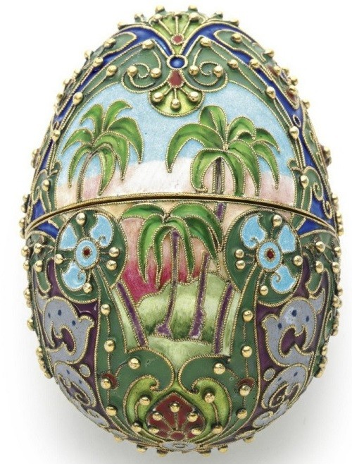 Imperial Easter Eggs. (late XIX – early XX centuries)