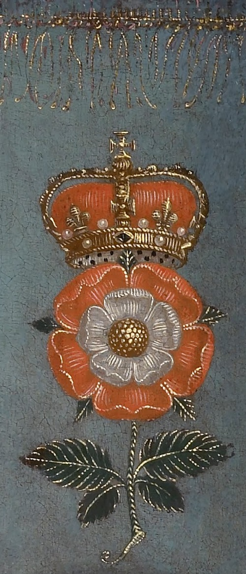 Nicholas Hilliard. Portrait of Queen Elizabeth I detail