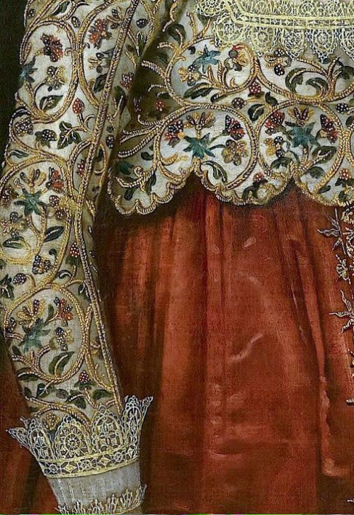 Tudor era dress