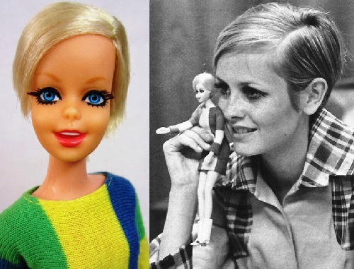 Twiggy became the first real prototype of Barbie
