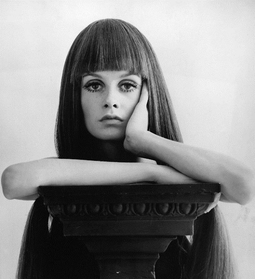 1960s iconic face Twiggy