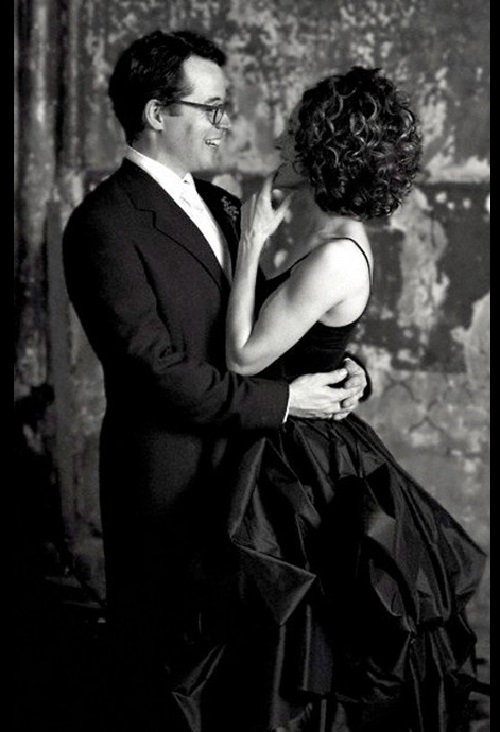 Actress Sarah Jessica Parker married actor Matthew Broderick in a luxurious black dress. The Wedding of Matthew Broderick and Sarah Jessica Parker, May 1997