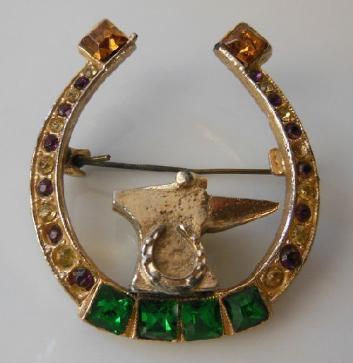 Horseshoe jewellery kaleidoscope