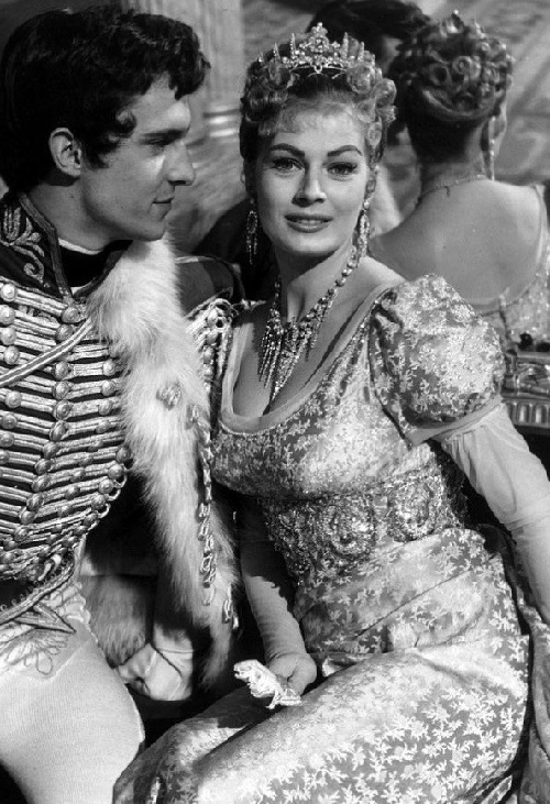 Anita Ekberg War and Peace', 1956