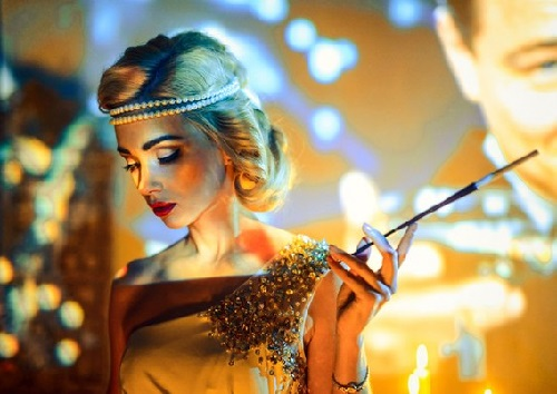 Avrora Shreder. Photographer Pavel Mikhailov, Great Gatsby style