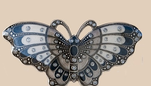 Beautiful butterfly brooch by Spanish brand Clara Bijoux