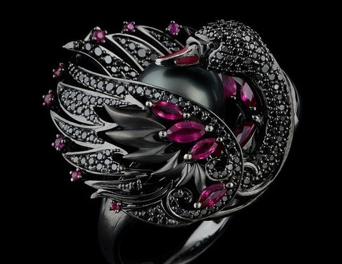 Black Swan by Master Exclusive Izhevsk Jewelry House, Russia