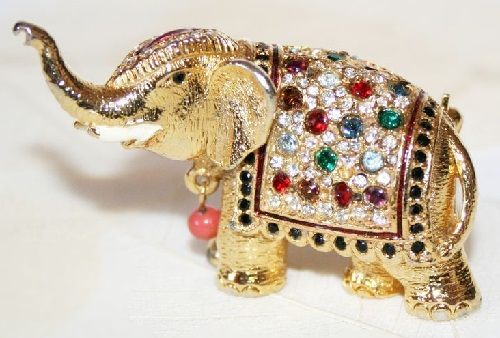 Brooch Elephant by the British jewellery company Sphinx