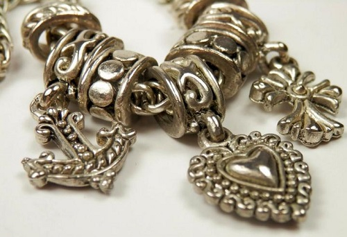 Christian triad Cross-Anchor-Heart jewellery