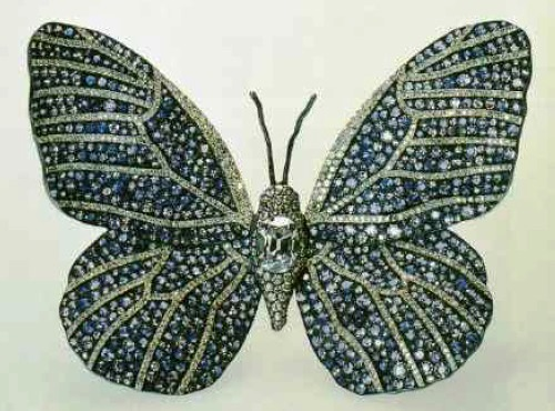 Elegant Butterfly Brooch. JAR. 1987
