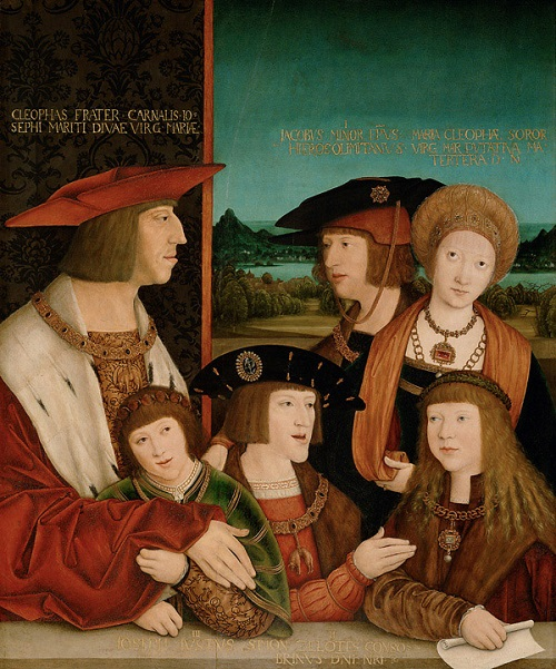 Maximilian I and his family
