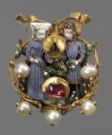 Mary and Maximilian love brooch