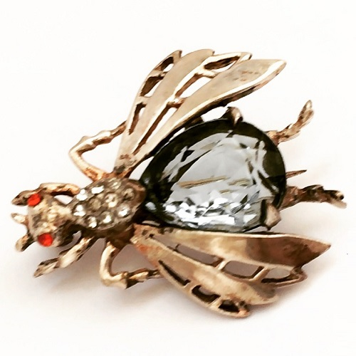 Fly brooch by Reja
