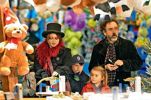 Helena Bonham Carter, Tim Burton and their children