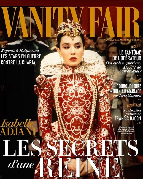 Isabelle Adjani for Vanity Fair