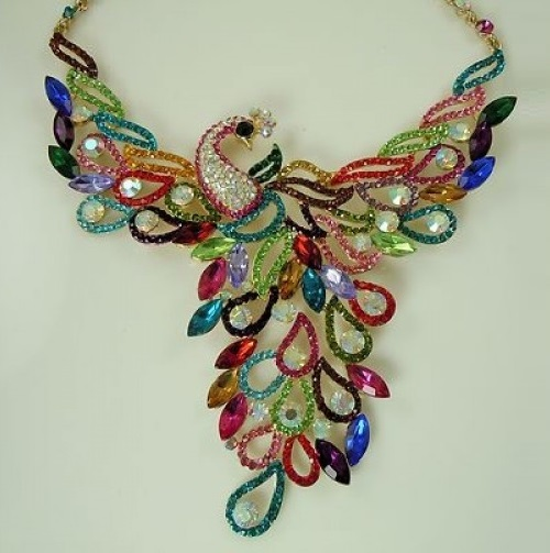 Kirks Folly necklace firebird