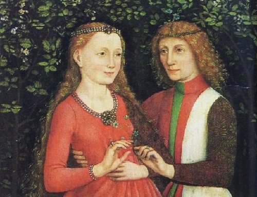 Maximilian I of Austria and Mary of Burgundy