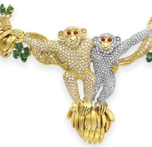 Monkeys Necklace
