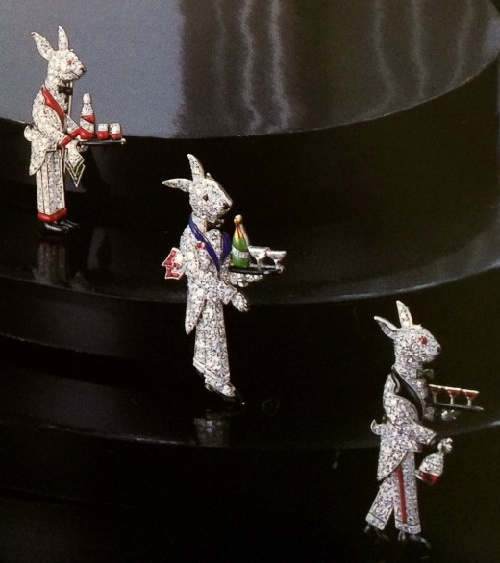 One of the iconic designs were his rabbits. The first pieces of the collection were made in the late 1920