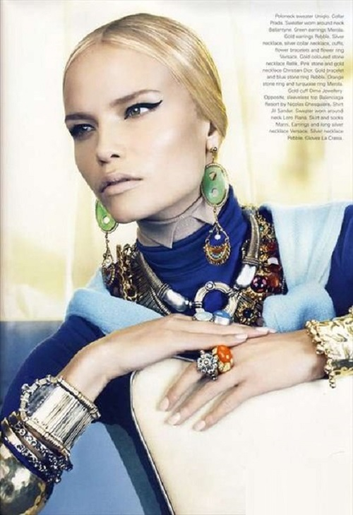 Natasha Poly on jewelry and beauty