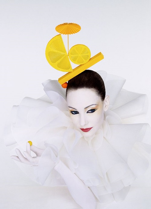 Serge Lutens, March 1995, from the book 'Serge Lutens'