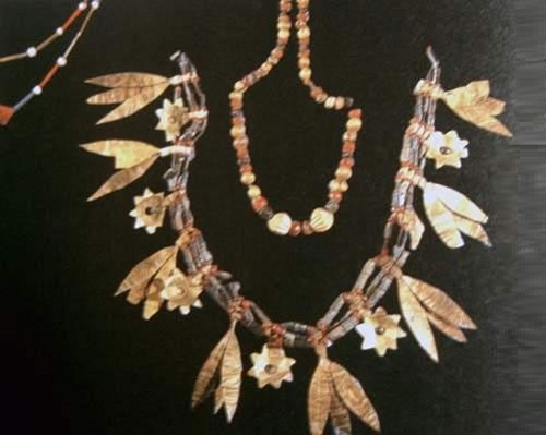 Queen Puabi jewellery