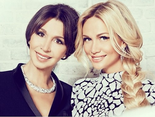 Victoria and her mother Irina