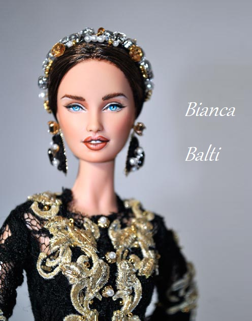 Tribute to the most famous Italian model, Bianca Balti, Doll Bianca