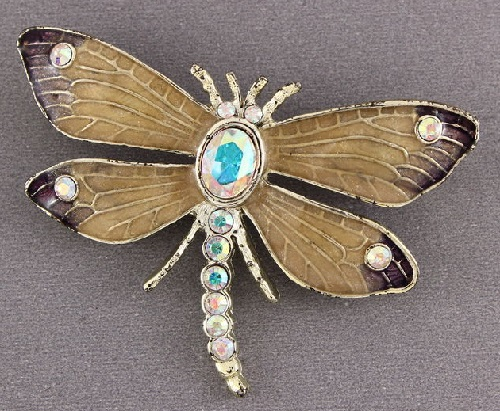 Exquisite Dragonfly brooch