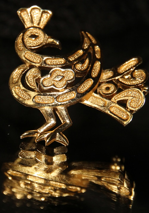 Vintage brooch Bird of Happiness from Trifari
