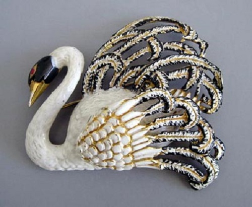Swan jewellery kaleidoscope