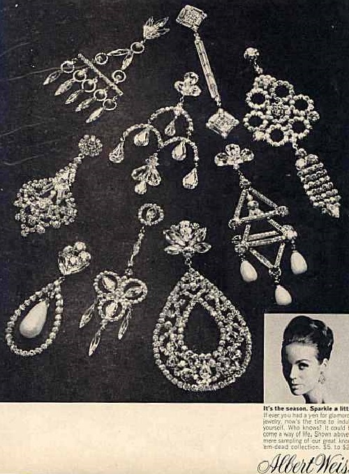 Weiss jewelry vintage poster 1966