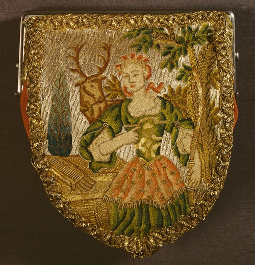 1725-1750 purse Diana the Hunter