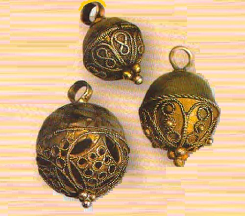 Ancient Russian buttons