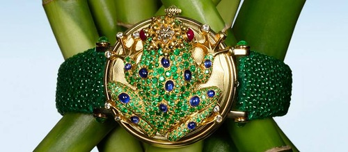 Andreas von Zadora-Gerlof jewelry watches Frog