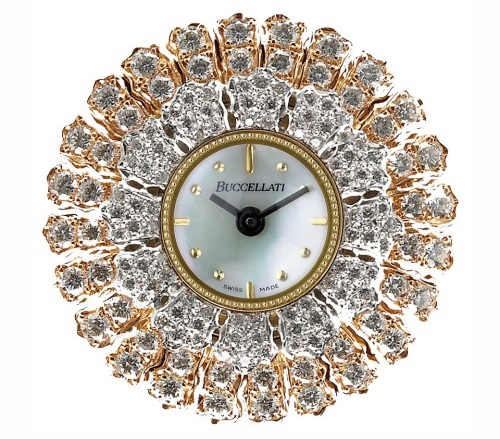 Buccellati unique lace jewelry watches