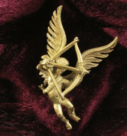 Angel brooch, created in 1960