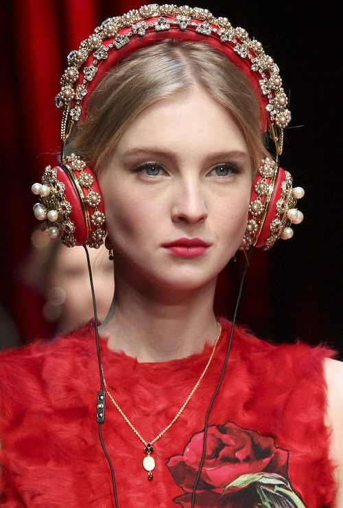 Dolce & Gabbana 2016 head accessories